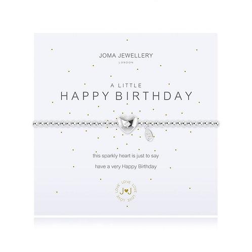'A Little Happy Birthday' Bracelet
