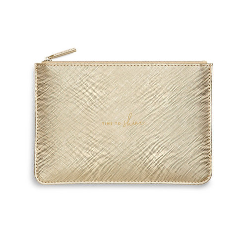 PERFECT POUCH | TIME TO SHINE
