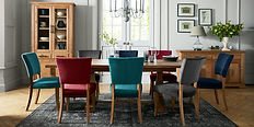 Belgrave Rustic Oak 6-8 Dining Table ben