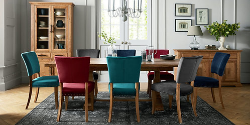Belgrave Rustic Oak 6-8 Dining Table
