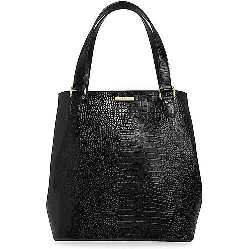 Katie Loxton Celine Croc Day Bag Black