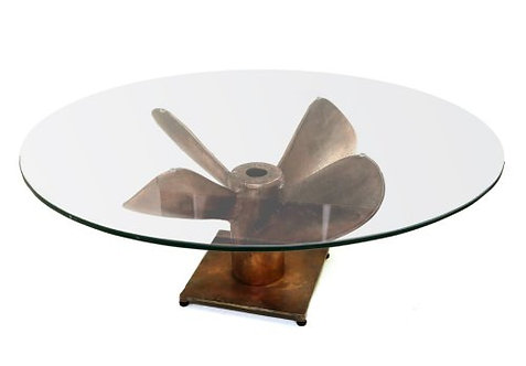 Giant Propeller Table-Burnt Copper