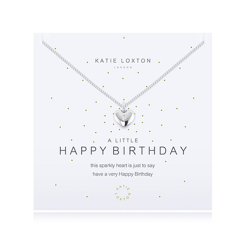 'A Little Happy Birthday' Necklace