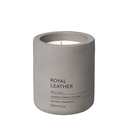 Blomus Scented Candle L Royal Leather FRAGA