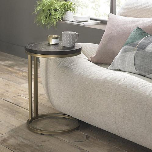 Chevron Peppercorn Ash Sofa Table