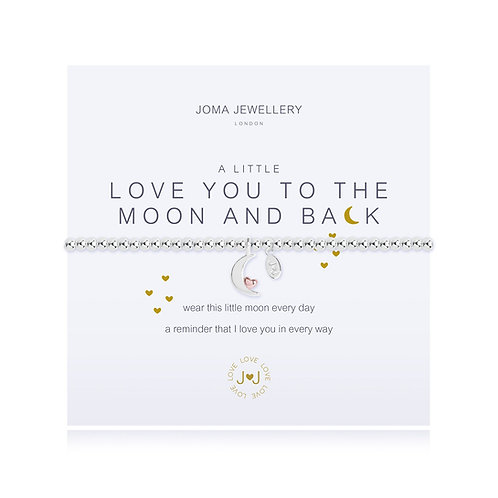 'A Little Love You To The Moon And Back' Bracelet