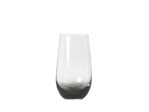 Broste Tumbler 'Smoke' Glass set of 4