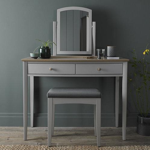 Whitby Scandi Oak & Grey Dressing Table