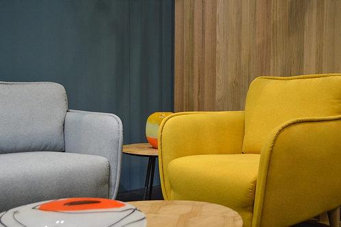 grey and yellow chair bowie Sofa Range siren sand cornwall stives
