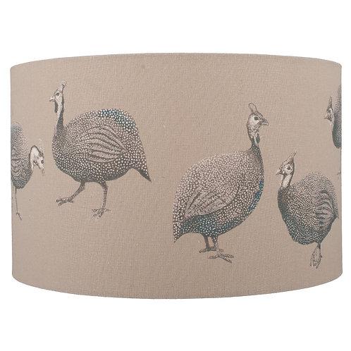 Jenny Worrall Guinea Fowl Linen Shade