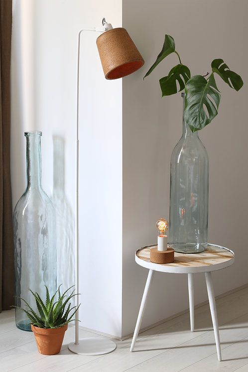 ZAMORA Clear Glass Vase or Table Lamp