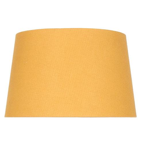 35cm Mustard Handloom Tapered Cylinder Shade