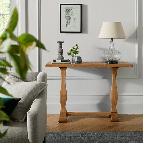 Belgrave Rustic Oak Console Table