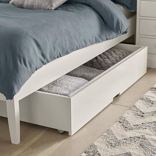 Ashby White Underbed Drawer/storage