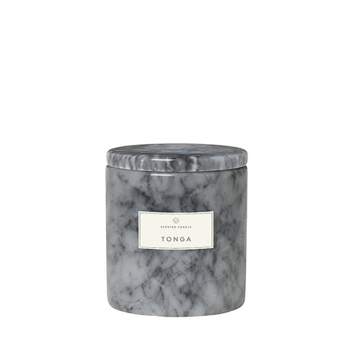 Scented Marble Candle Sharkskin