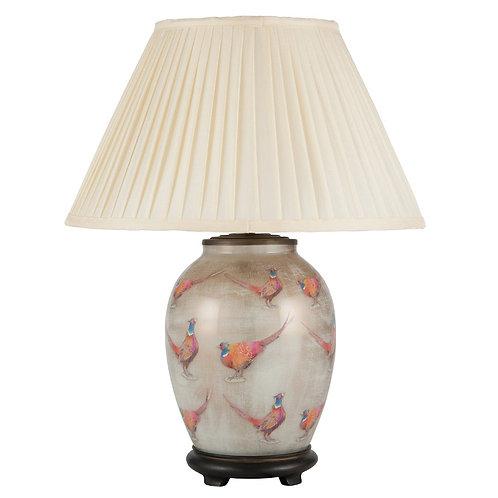Pheasant Medium Glass Table Lamp