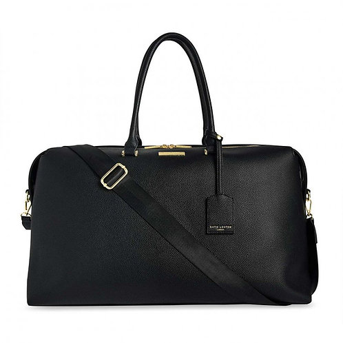 BLACK KENSINGTON WEEKEND BAG