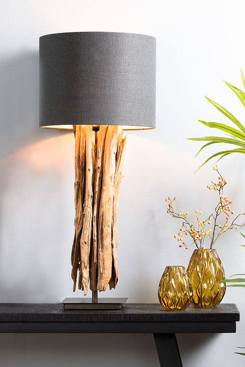 WARY Wood Natural Table Lamp