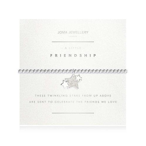 A LITTLE FRIENDSHIP FACETED BRACELET