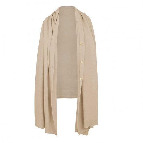 EVE MULTI WAY PONCHO / NATURAL