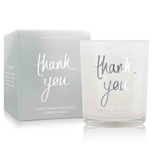 Katie Loxton 'Thank You' Scented Candle