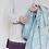 Gemstone Pure New Wool tweedmill Blanket Petrol Blue sand cornwall