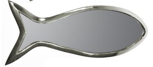 Small Aluminium Fish Mirror