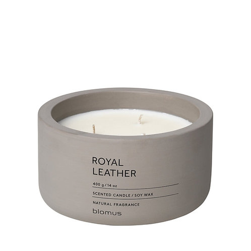 Blomus Scented Candle XL Royal Leather FRAGA