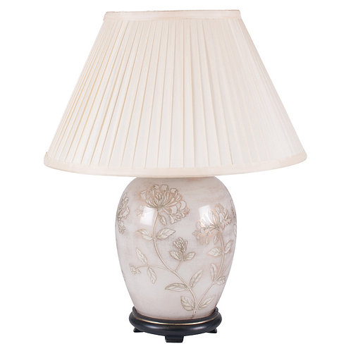 Honeysuckle Medium Glass Table Lamp