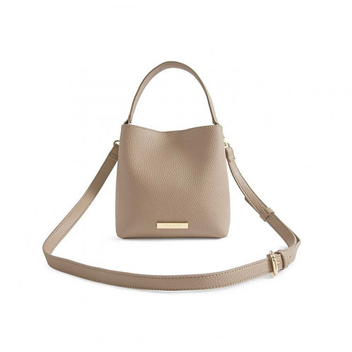 TAUPE LUCIE CROSSBODY BAG