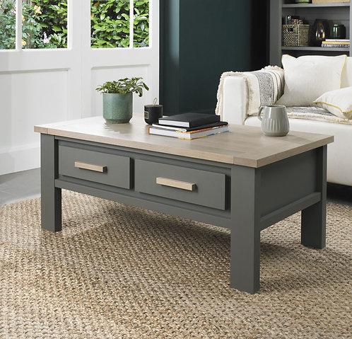 Oakham Dark Grey & Scandi Oak Coffee Table