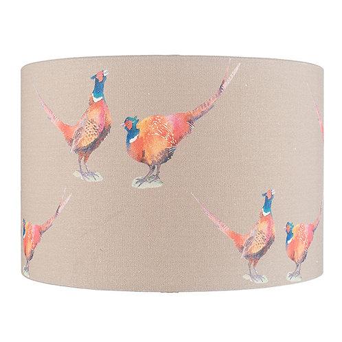 Jenny Worrall Pheasant Linen Shade