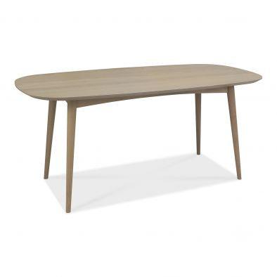 Dansk Scandi Oak 6 Seater Dining Table