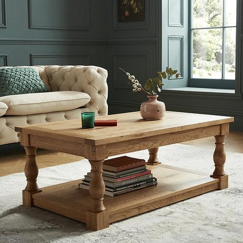 Westbury Rustic Oak Coffee Table
