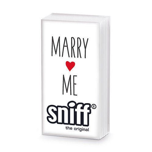 Sniff Marry Me Tissues