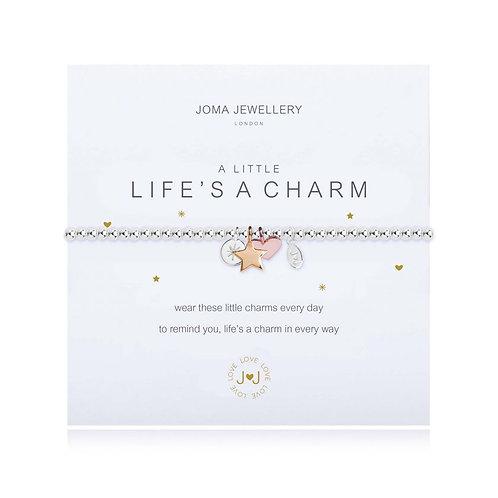 'A Little Life Is A Charm' Bracelet
