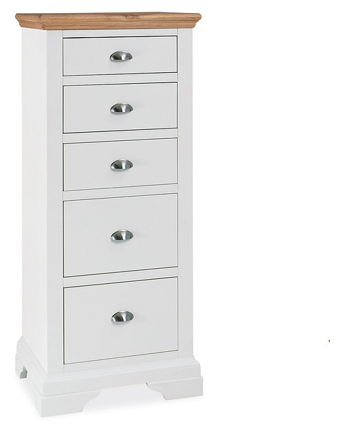 Hampstead Bedroom Two Tone Tall Chest of Drawers