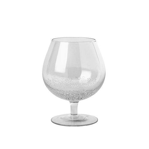 COGNAC 'BUBBLE' GLASS