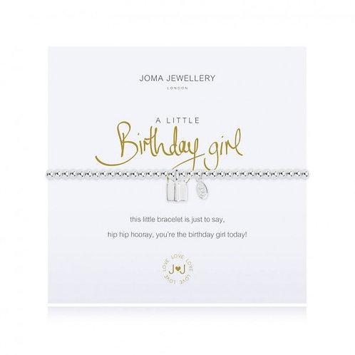 'A Little Birthday Girl' Bracelet