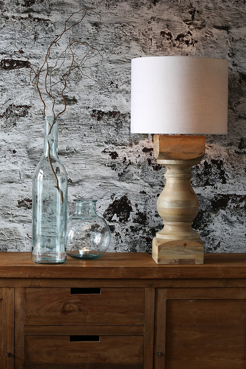 CUMANI Natural Wood Table Lamp