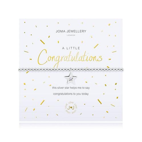 'A Little Congratulations' Bracelet