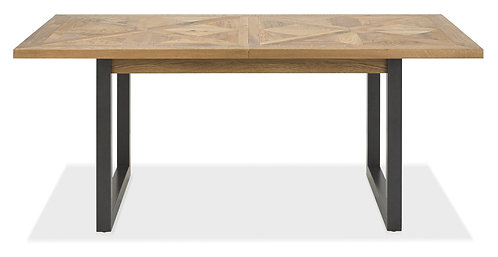 Indus Rustic Oak 6-10 Dining Extending Table