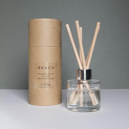 Beach Reed Diffuser   Bergamot, Orange & Vanilla