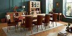 Westbury Rustic Oak 4-10 Extension Table