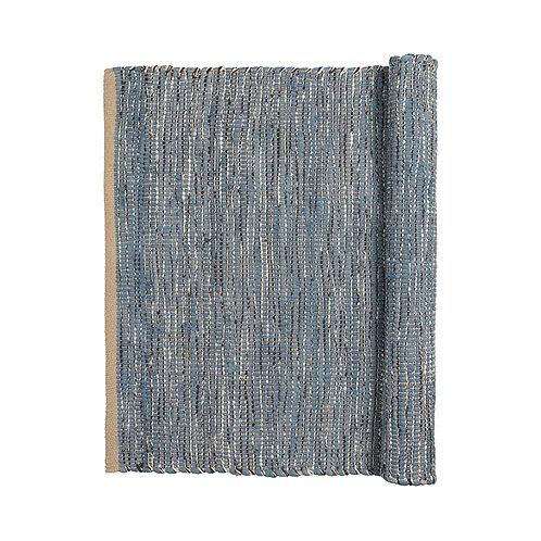 Broste Cotton Rug 'Magna' Blue Mirage