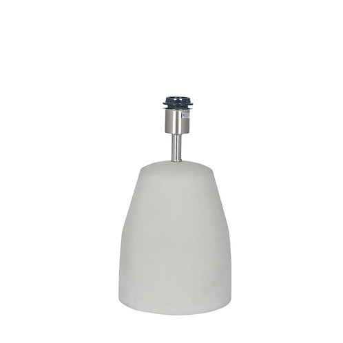 Concrete Table Lamp base only