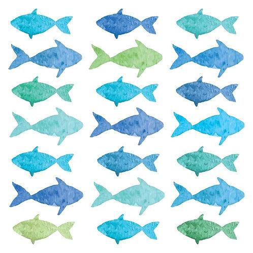 Watercolour Fishes Napkins