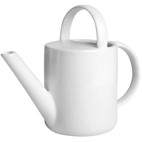 Mini White Ceramic Wide Watering Jug