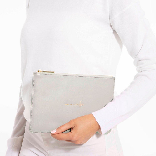 PERFECT POUCH | ONE IN A MILLION | PALE GREY