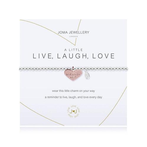 'A Little Live Laugh Love' Bracelet
